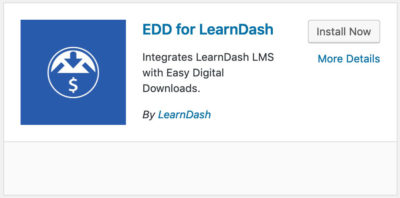 Easy Digital Downloads LearnDash integration plugin