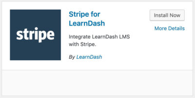 Stripe for LearnDash integration
