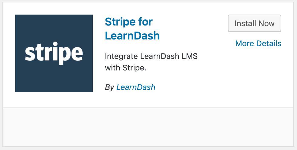 Stripe Integration - LearnDash Support