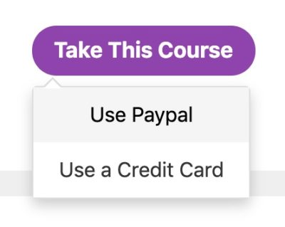 Payment Button, PayPal or Stripe options