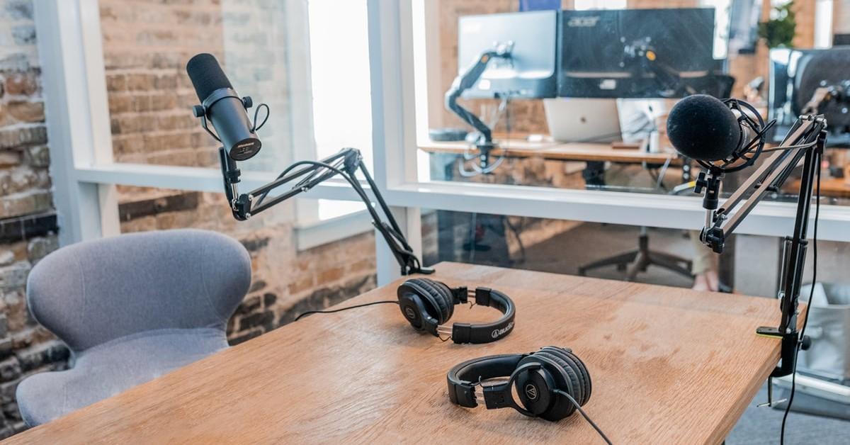webinar recording studio setup