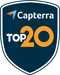 Capterra Top 20 Training Software Winner